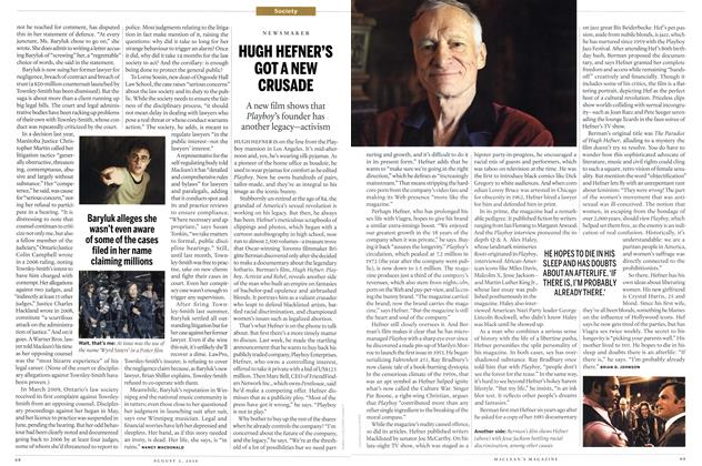 Article Preview: HUGH HEFNER'S GOT A NEW CRUSADE, August 2nd 2010 | Maclean's