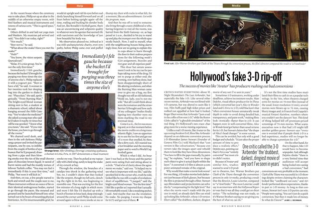 Article Preview: Hollywood's fake 3-D rip-off, August 2010 | Maclean's