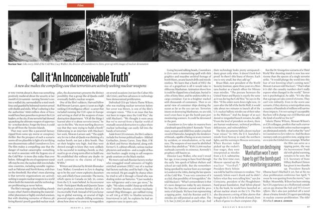 Article Preview: Call it 'An Inconceivable Truth', August 2nd 2010 | Maclean's