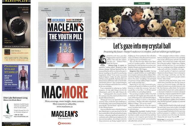 Article Preview: Let's gaze into my crystal ball, August 2010 | Maclean's