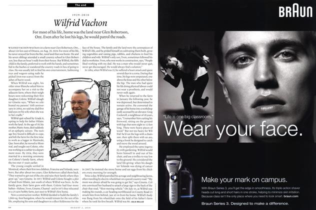 Article Preview: 1929-2010 Wilfrid Vachon, August 2nd 2010 | Maclean's