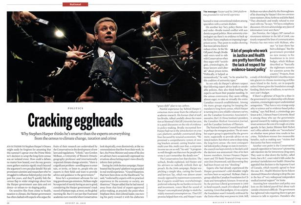 Article Preview: Cracking eggheads, August 2010 | Maclean's