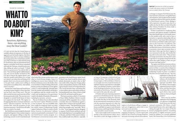 Article Preview: WHAT TO DO ABOUT KIM?, August 2010 | Maclean's