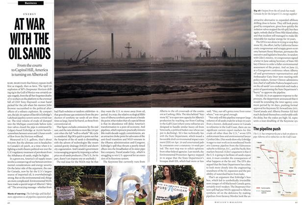 Article Preview: AT WAR WITH THE OIL SANDS, August 16th 2010 | Maclean's