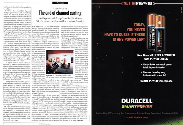 Article Preview: The end of channel surfing, August 16th 2010 | Maclean's