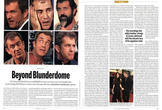 Article Preview: Beyond Blunderdome, August 16th 2010 | Maclean's