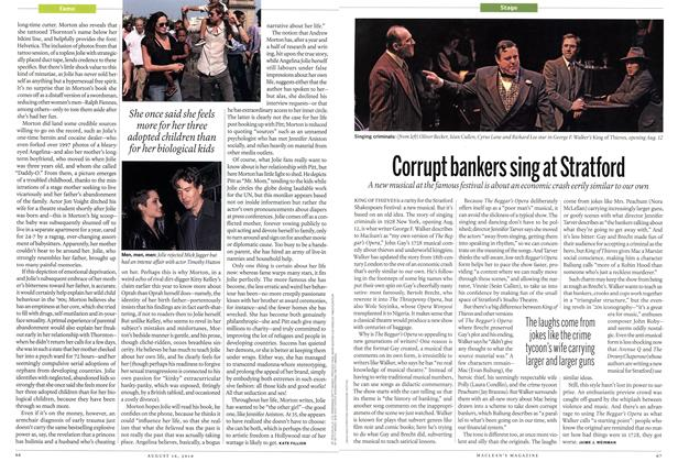 Article Preview: Corrupt bankers sing at Stratford, August 16th 2010 | Maclean's