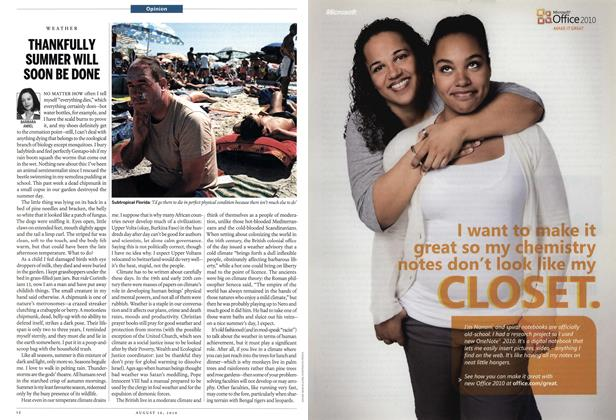 Article Preview: THANKFULLY SUMMER WILL SOON BE DONE, August 16th 2010   Maclean's