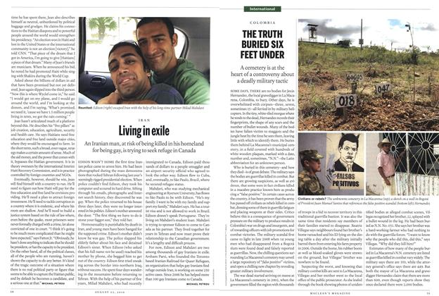 Article Preview: THE TRUTH BURIED SIX FEET UNDER, August 2010 | Maclean's