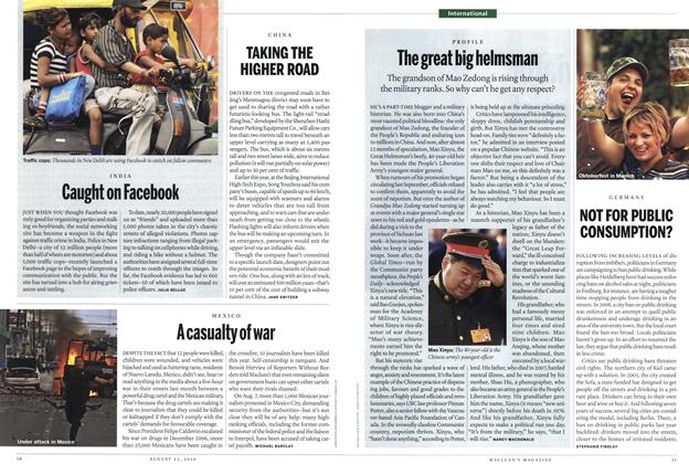 Article Preview: The great big helmsman, August 23rd 2010 | Maclean's