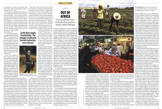 Article Preview: OUT OF AFRICA, August 2010 | Maclean's
