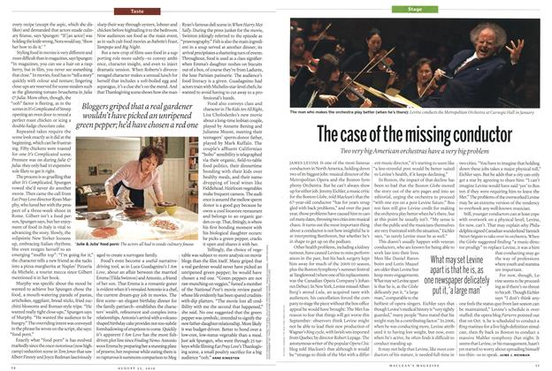 Article Preview: The case of the missing conductor, August 2010   Maclean's