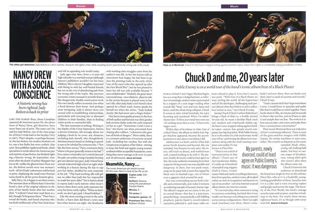 Article Preview: Chuck D and me, 20 years later, August 2010 | Maclean's