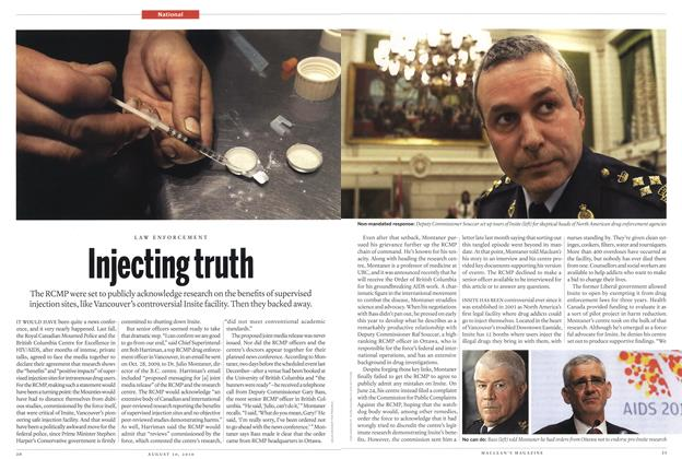 Article Preview: Injecting truth, August 30th 2010 | Maclean's