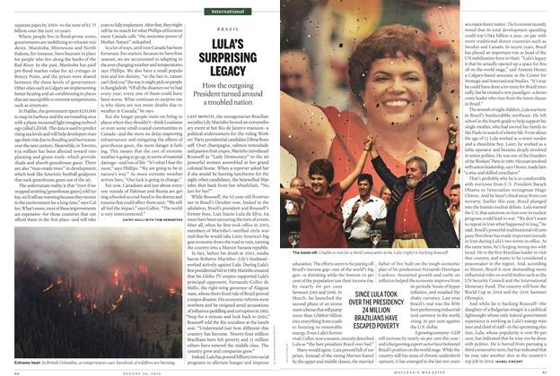 Article Preview: LULA'S SURPRISING LEGACY, August 30th 2010 | Maclean's