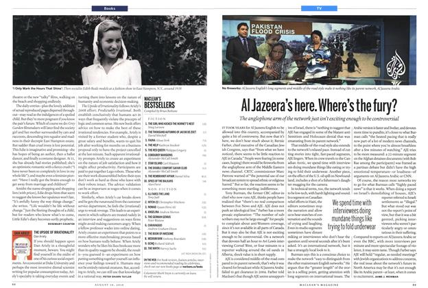 Article Preview: AI Jazeera's here. Where's the fury?, August 30th 2010 | Maclean's