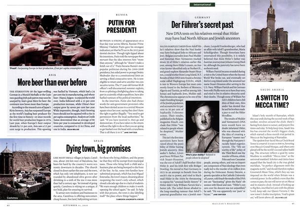 Article Preview: More beer than ever before, September 13th 2010 | Maclean's