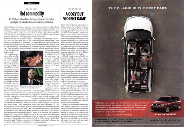 Article Preview: Hot commodity, September 13th 2010 | Maclean's