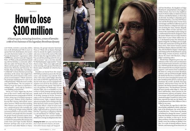 Article Preview: How to lose $100 million, September 13th 2010 | Maclean's