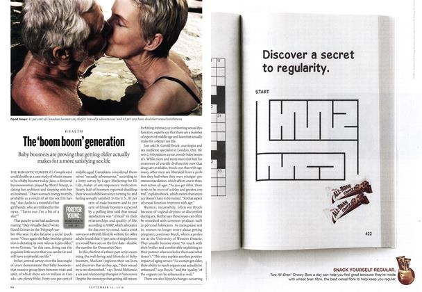 Article Preview: The 'boom boom' generation, September 13th 2010 | Maclean's