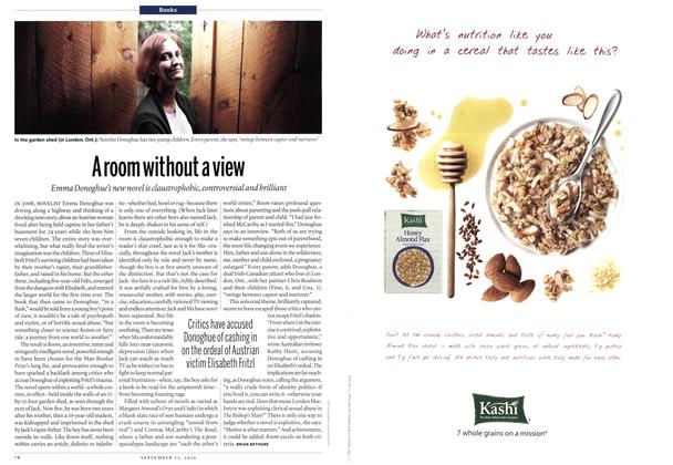 Article Preview: A room without a view, September 13th 2010 | Maclean's