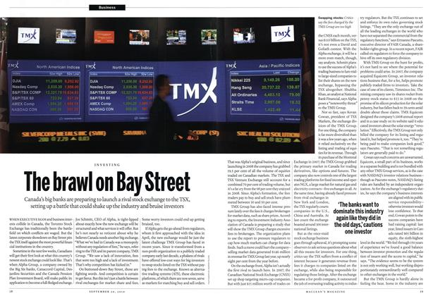 Article Preview: The brawl on Bay Street, September 2010 | Maclean's