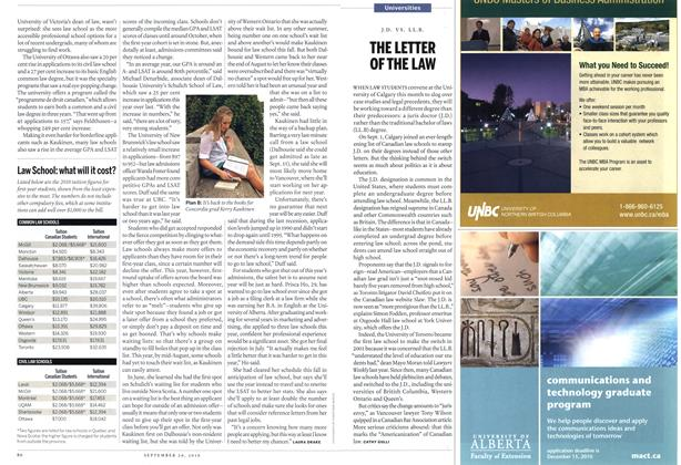 Article Preview: THE LETTER OF THE LAW, September 20th 2010 | Maclean's