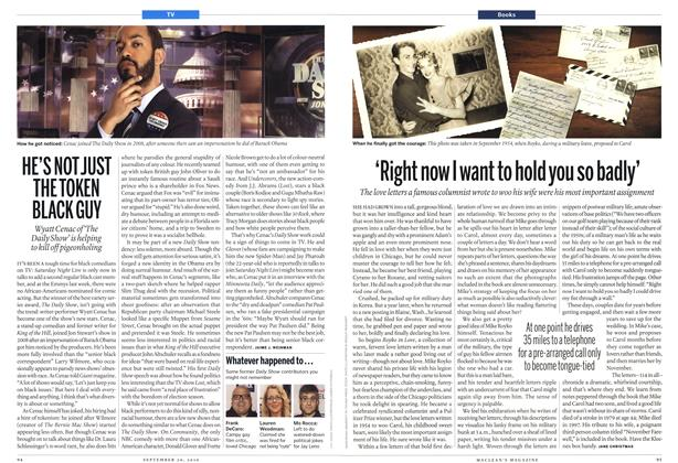 Article Preview: 'Right now I want to hold you so badly', September 20th 2010 | Maclean's