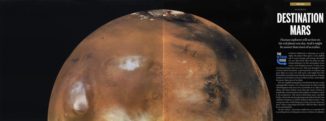 Article Preview: DESTINATION MARS, September 27th 2010 | Maclean's