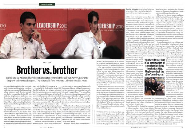 Article Preview: Brother vs. brother, October 4th 2010 | Maclean's