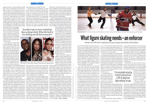 Article Preview: What figure skating needs—an enforcer, October 4th 2010 | Maclean's