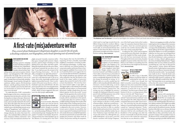 Article Preview: A first-rate (mis)adventure writer, October 2010 | Maclean's