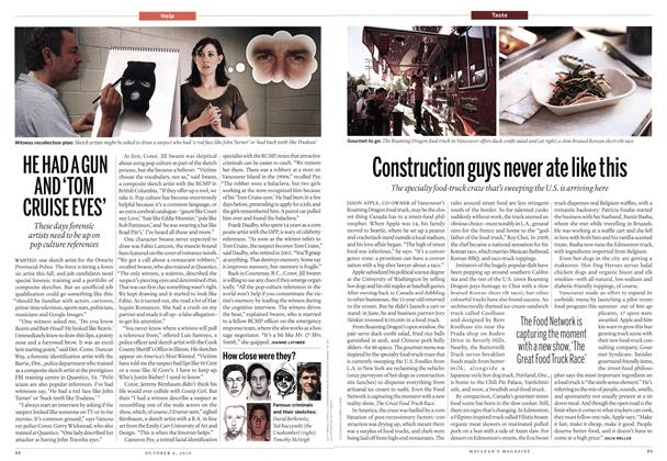 Article Preview: Construction guys never ate like this, October 4th 2010 | Maclean's