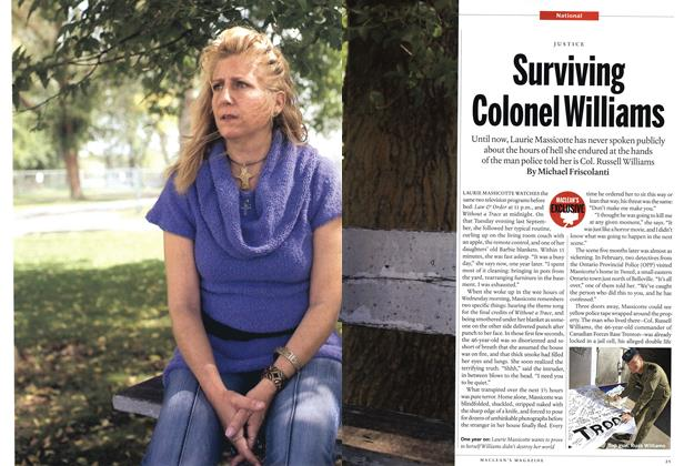 Article Preview: Surviving Colonel Williams, October 2010 | Maclean's