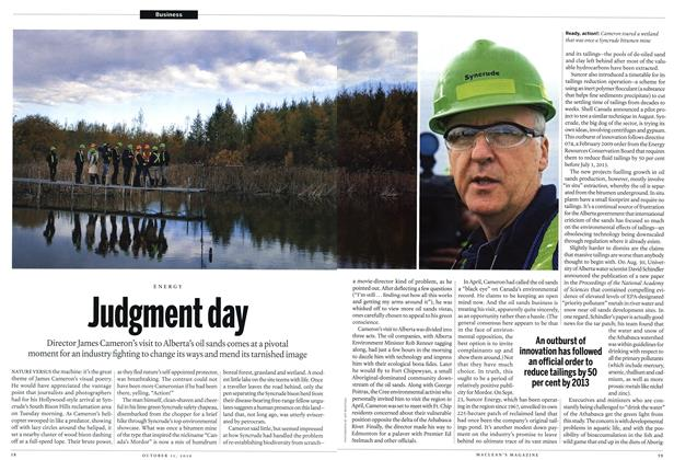Article Preview: Judgment day, October 11th 2010 | Maclean's