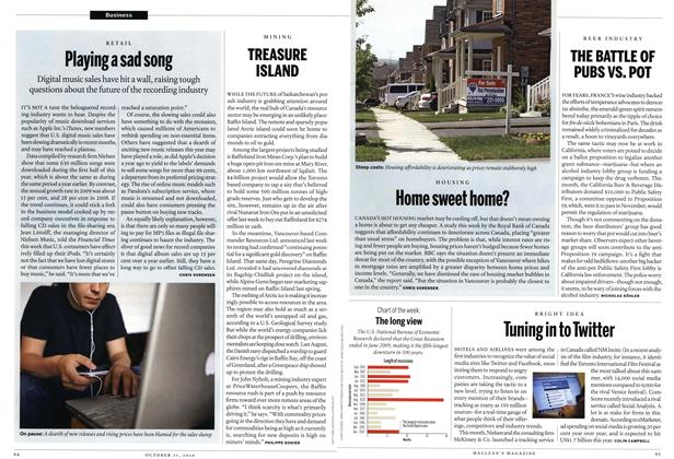 Article Preview: Tuning in to Twitter, October 11th 2010 | Maclean's