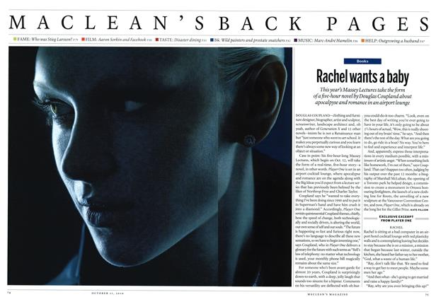 Article Preview: Rachel wants a baby, October 11th 2010 | Maclean's
