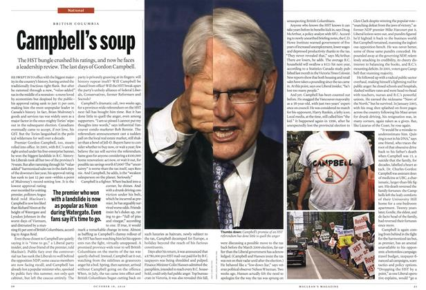 Article Preview: Campbell's soup, October 18th 2010 | Maclean's