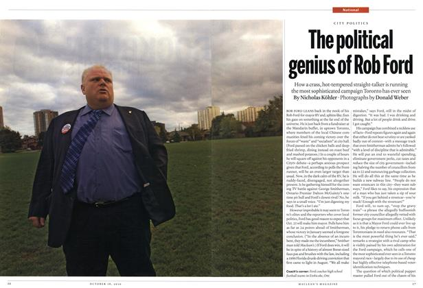 Article Preview: The political genius of Rob Ford, October 18th 2010 | Maclean's