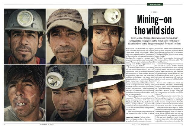 Article Preview: Mining-on the wild side, October 18th 2010 | Maclean's
