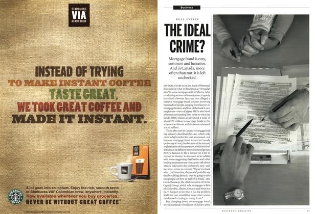 Article Preview: THE IDEAL CRIME?, October 18th 2010 | Maclean's