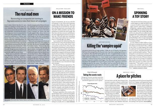 Article Preview: ON A MISSION TO MAKE FRIENDS, October 2010 | Maclean's