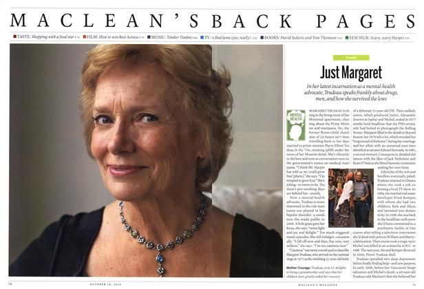Article Preview: Just Margaret, October 2010 | Maclean's