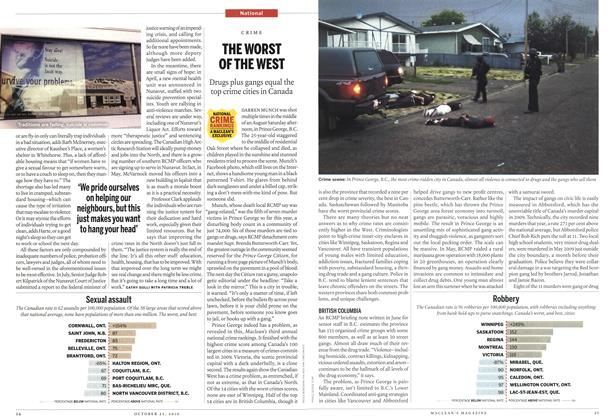 Article Preview: THE WORST OF THE WEST, October 2010 | Maclean's