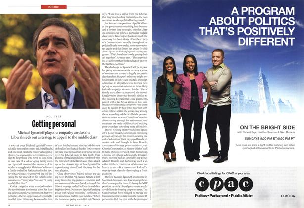 Article Preview: Getting personal, October 25th 2010 | Maclean's