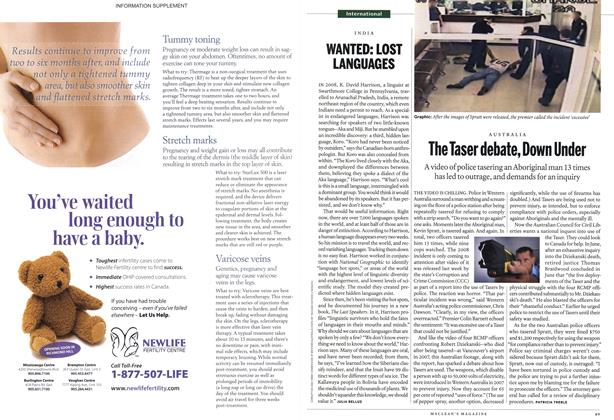 Article Preview: The Taser debate, Down Under, October 25th 2010 | Maclean's