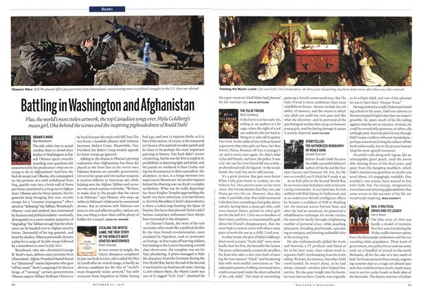 Article Preview: Battling in Washington and Afghanistan, October 25th 2010 | Maclean's