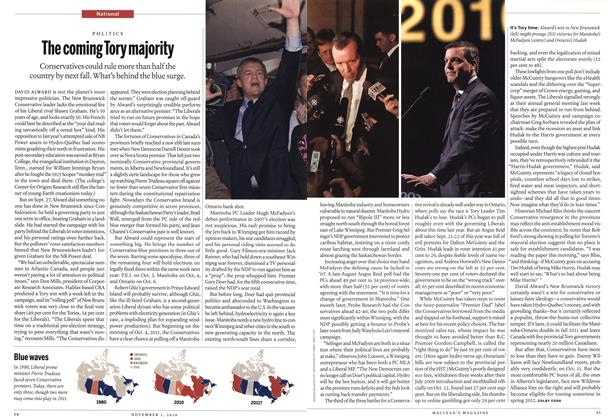 Article Preview: The coming Tory majority, November 1st 2010 | Maclean's