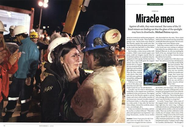 Article Preview: Miracle men, November 1st 2010 | Maclean's