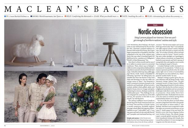 Article Preview: Nordic obsession, November 1st 2010   Maclean's